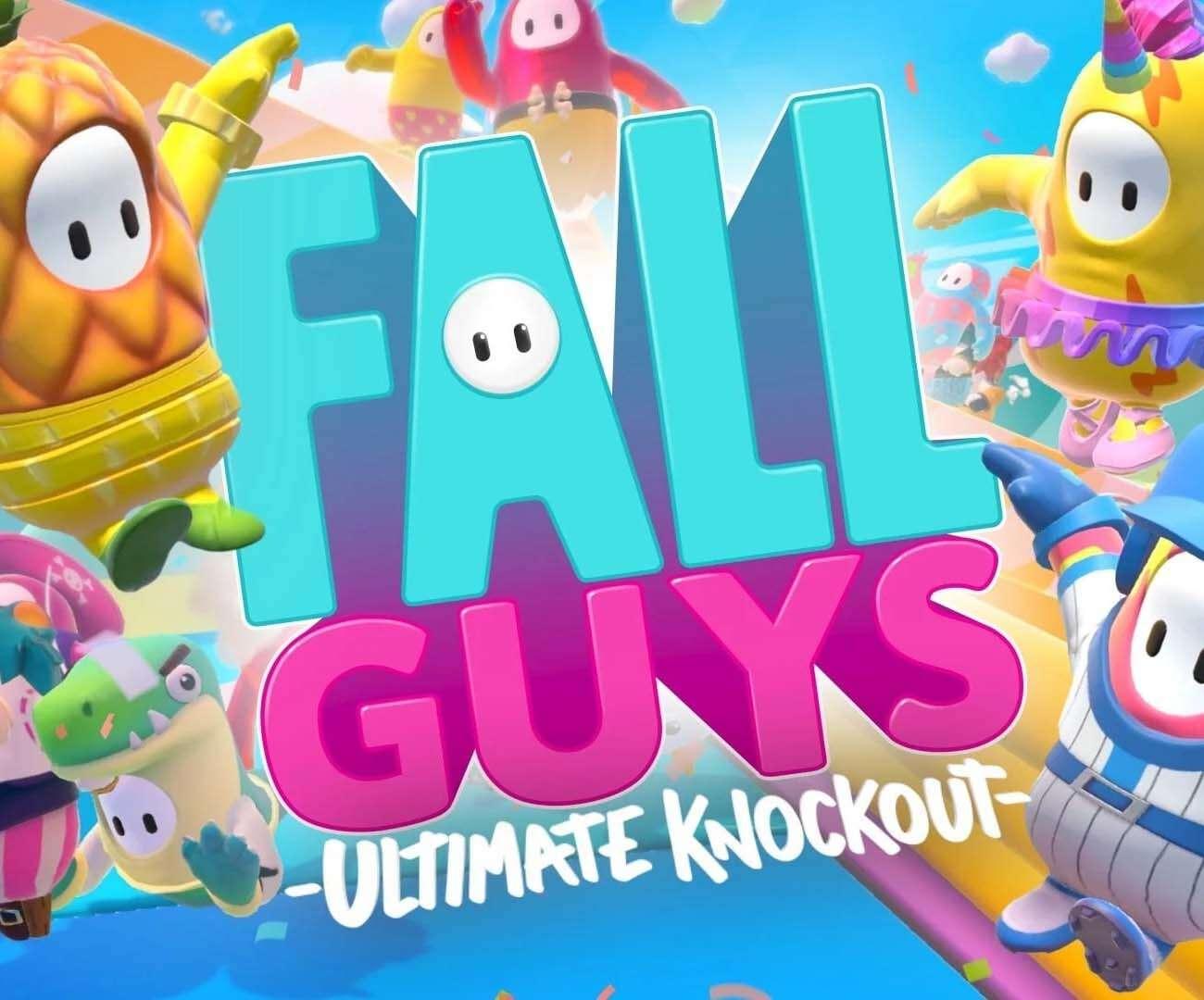fall guys, split screen