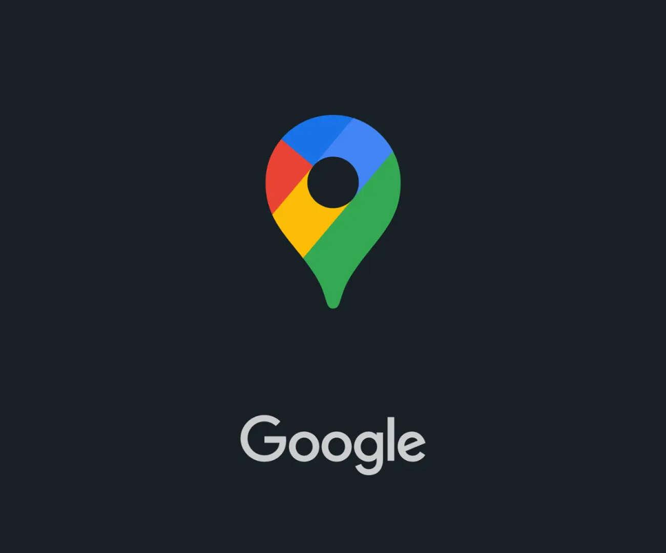 google mapy dark mode