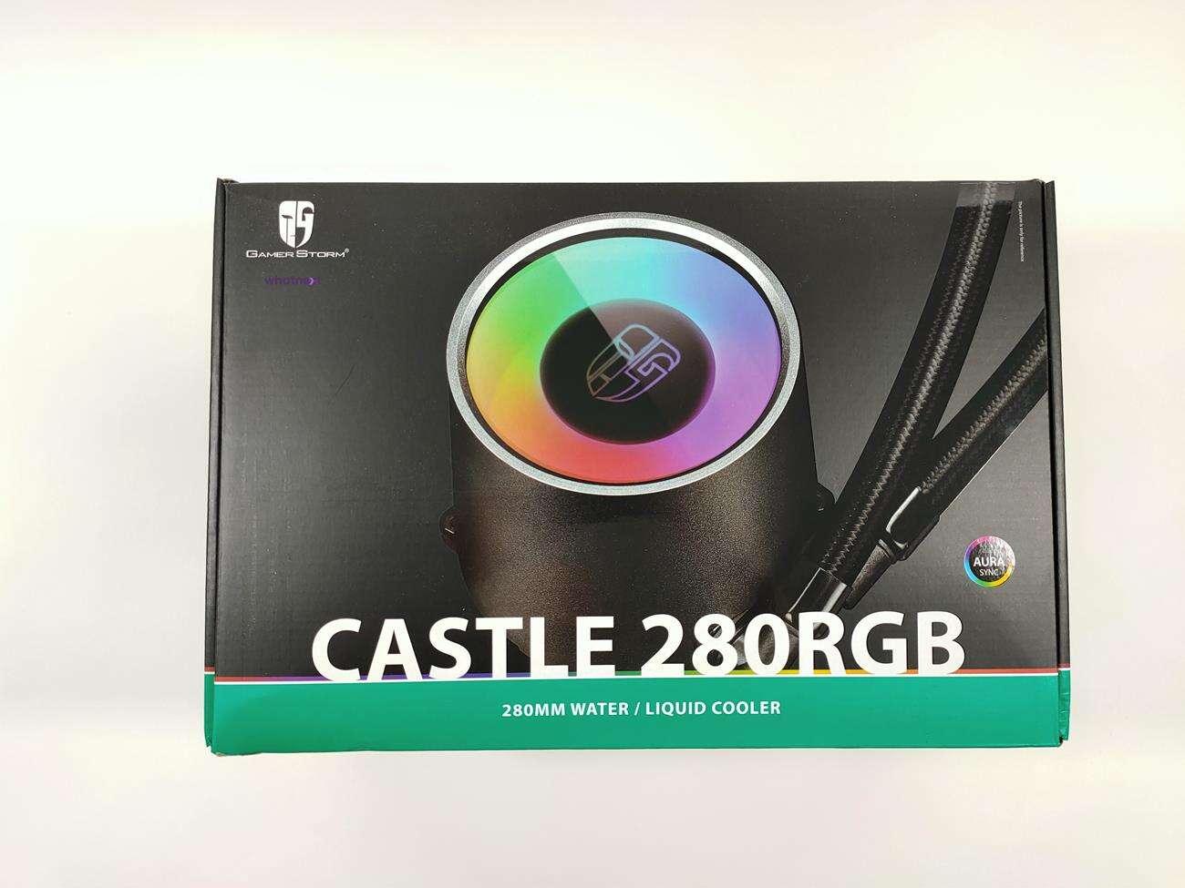 test Castle 280RGB, recenzja Castle 280RGB, review Castle 280RGB, opinia Castle 280RGB