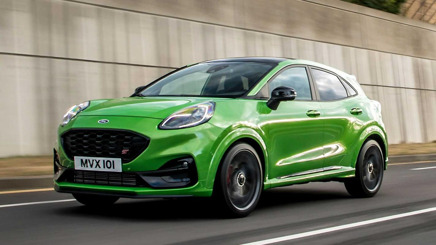 Ford Puma ST crossover Europa