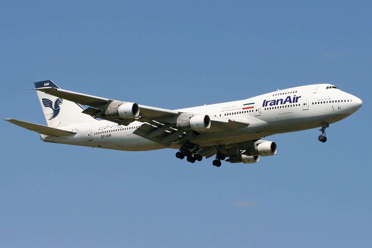 Boeing 747 statek matka