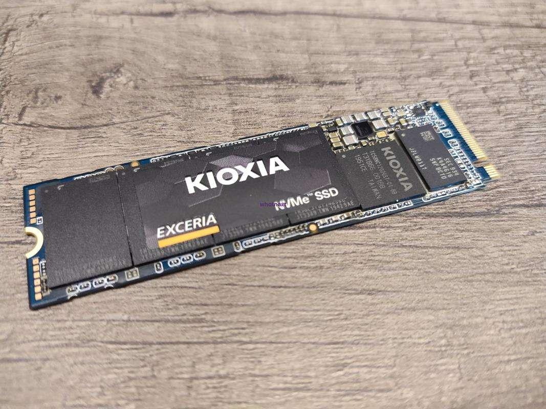 Kioxia PCIe 4.0 dysk plotki