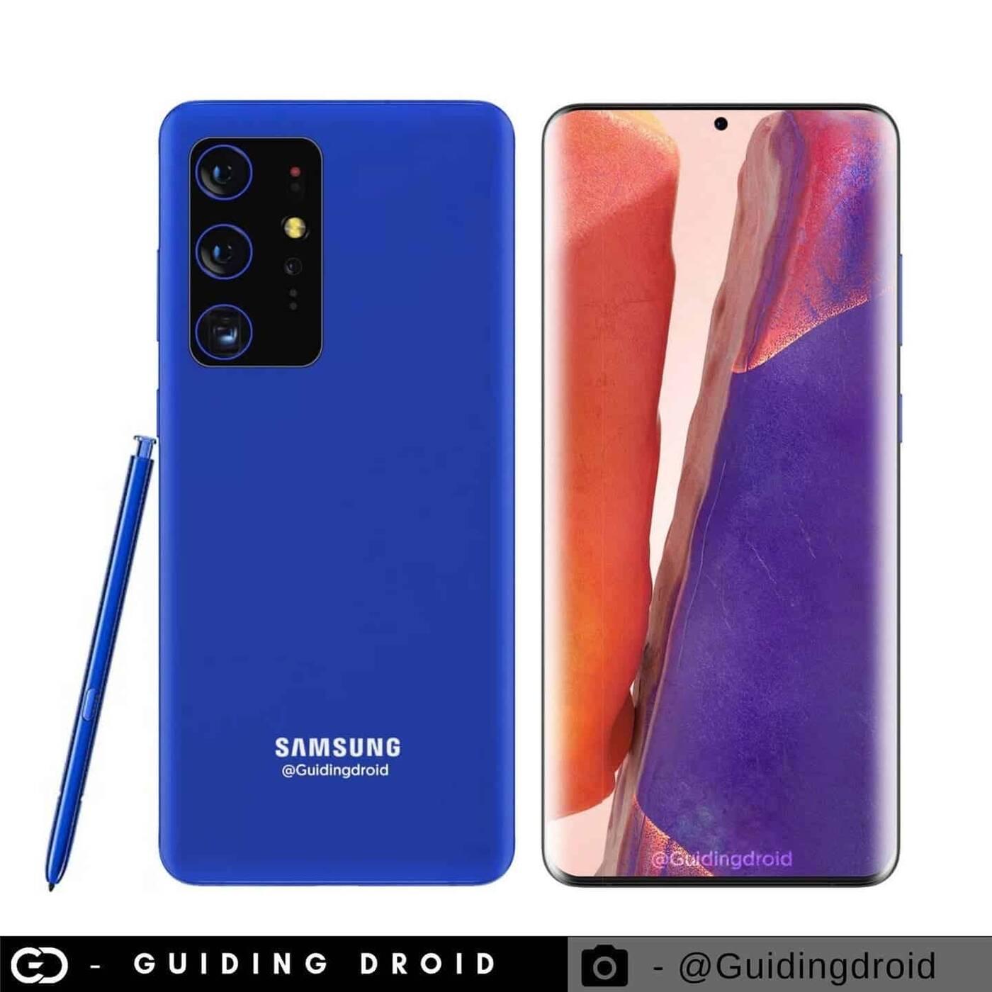 Samsung Galaxy S21, rysik Samsung Galaxy S21