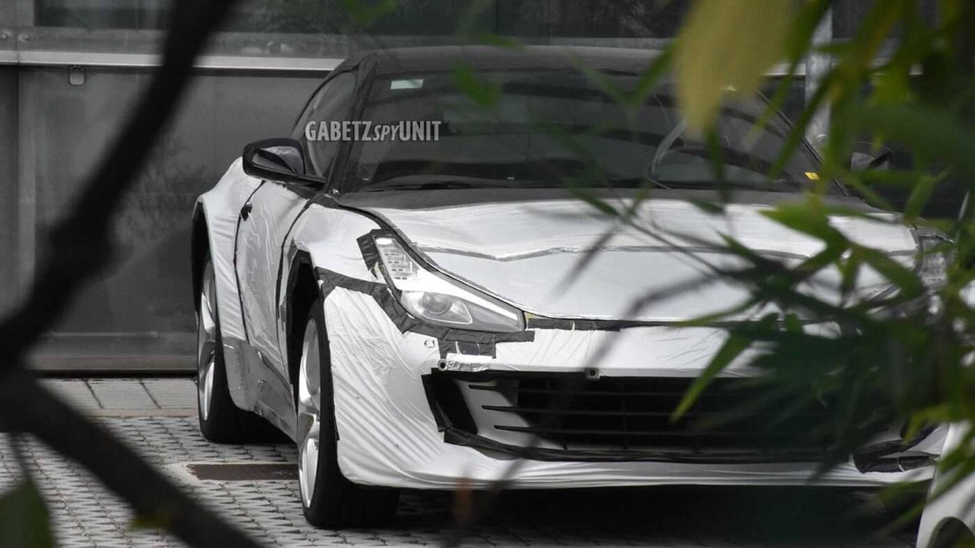 SUV Ferrari Purosangue wyszpiegowany, SUV Ferrari Purosangue, Ferrari Purosangue wyszpiegowany, Ferrari Purosangue