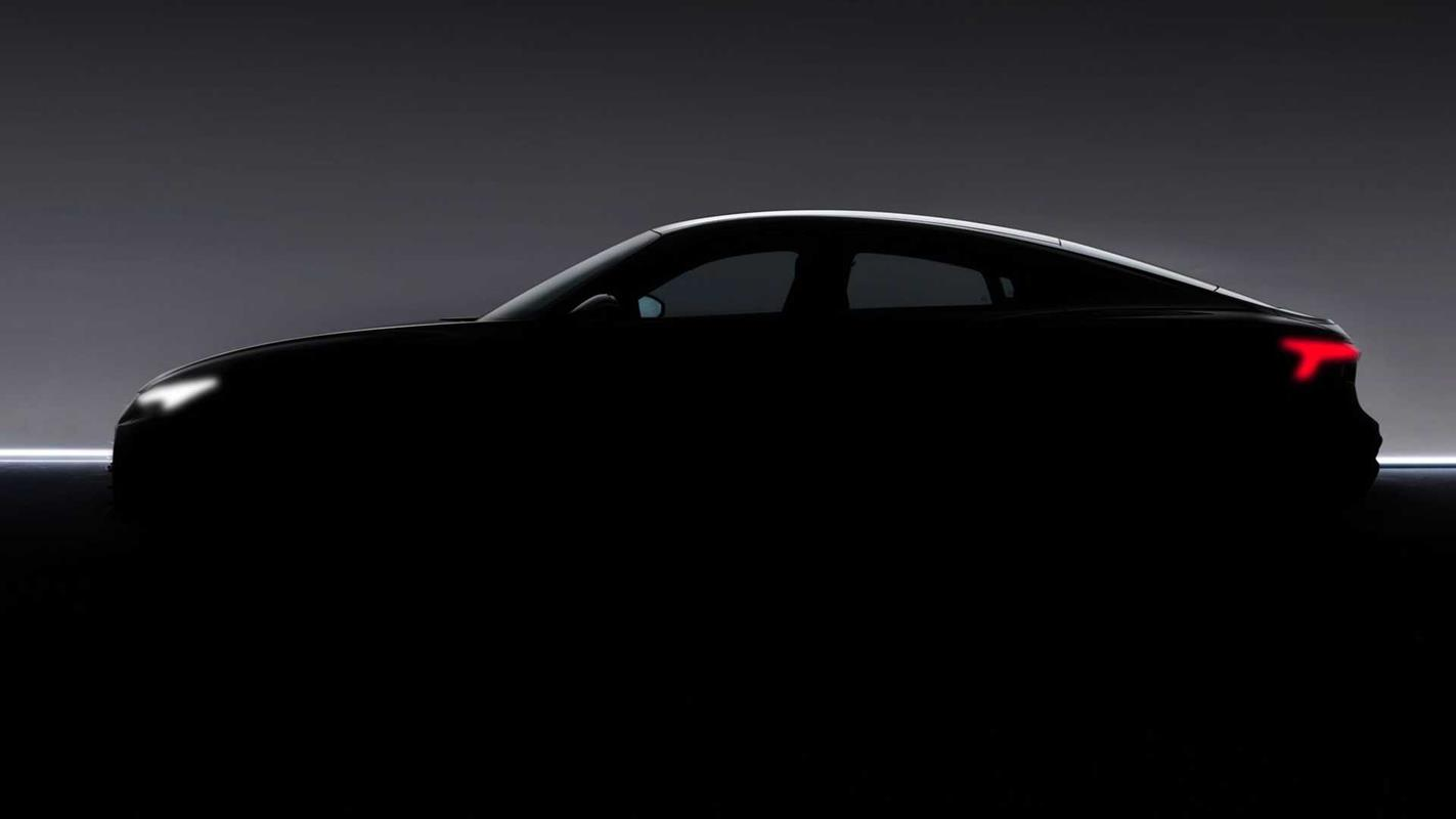 Audi prototyp E-Tron GT sedan