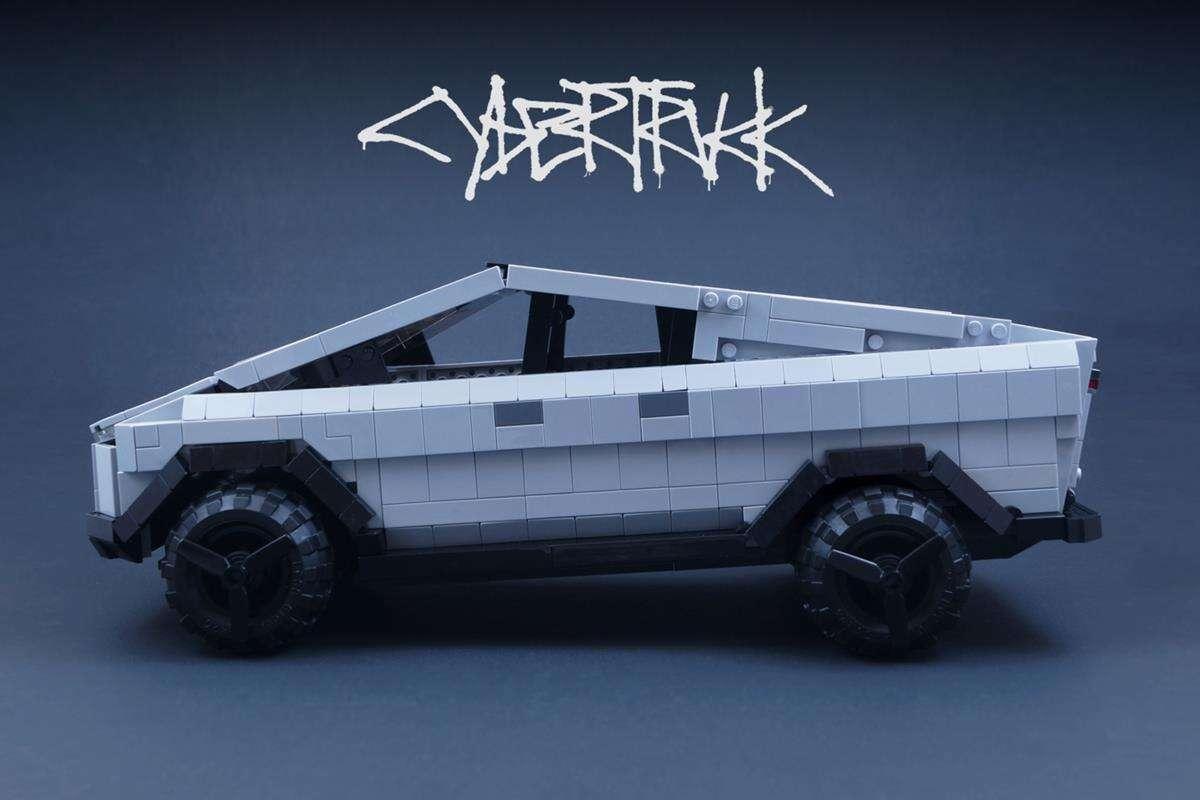 Cybertruck Tesla LEGO zestaw