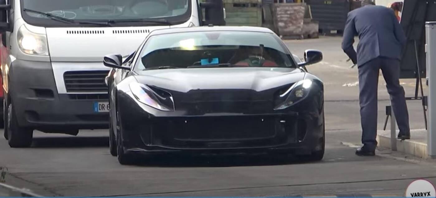 Ferrari 812 GTO nagranie testy