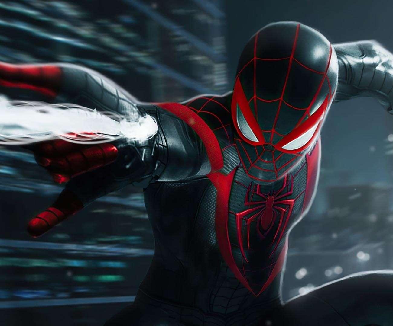 ładowanie spider-man miles morales