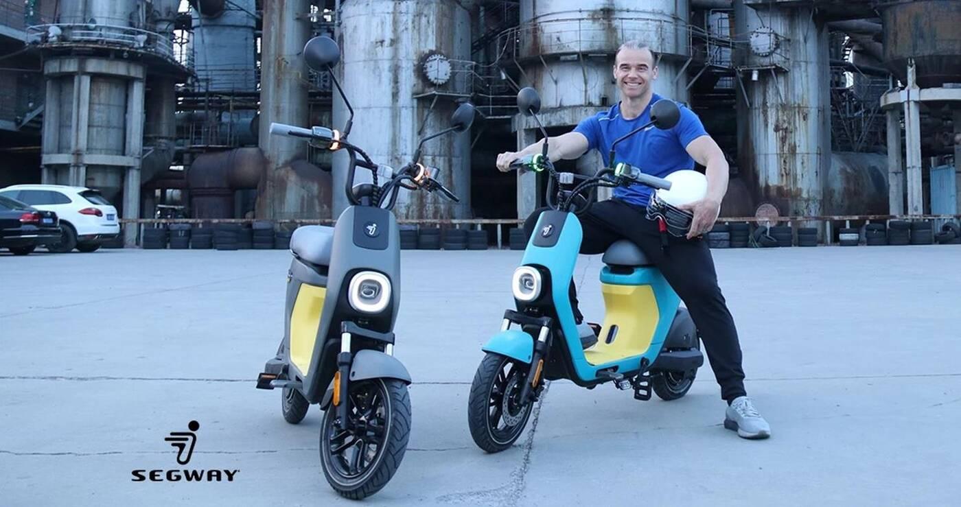 rower elektryczny Segway C80