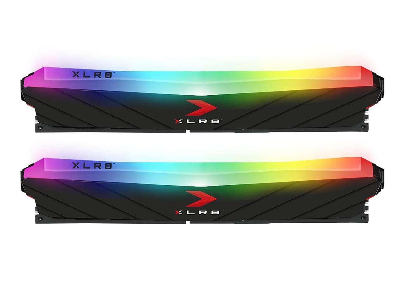 specyfikacja PNY XLR8 Gaming EPIC-X RGB DDR4 3600 MHz