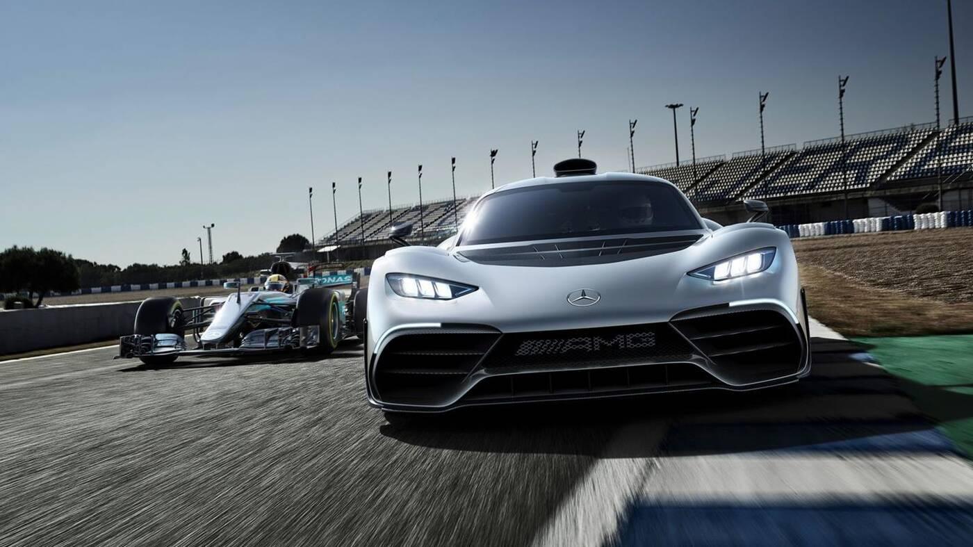 Mercedes AMG One historia szczegóły