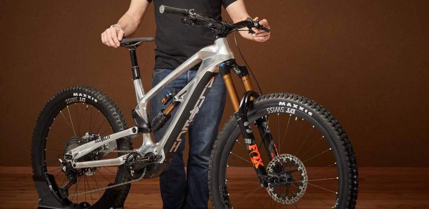 elektryczny rower CNC eFanes