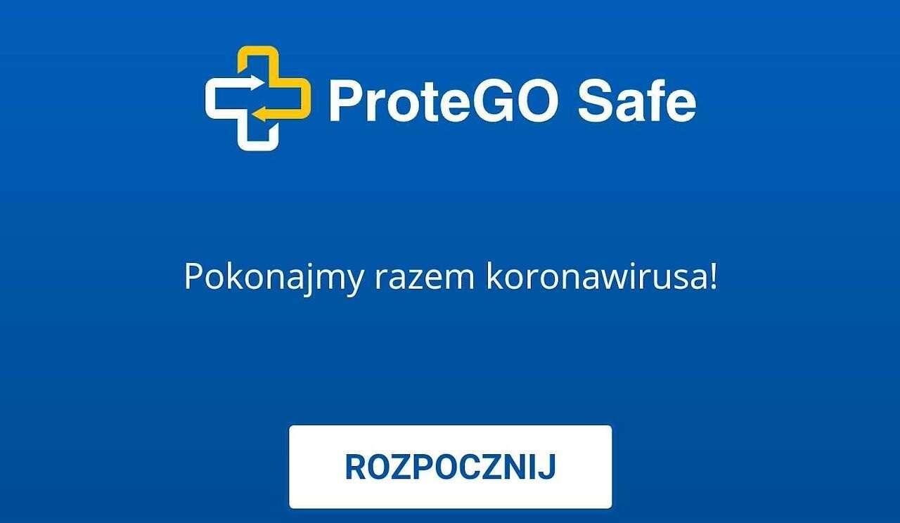aplikacja STOP COVID - ProteGo Safe, koronawirus, Koronawirus aplikacja, STOP COVID ProteGo Safe