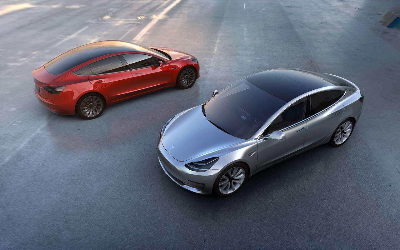 Tesla Model 3 MIC Europa