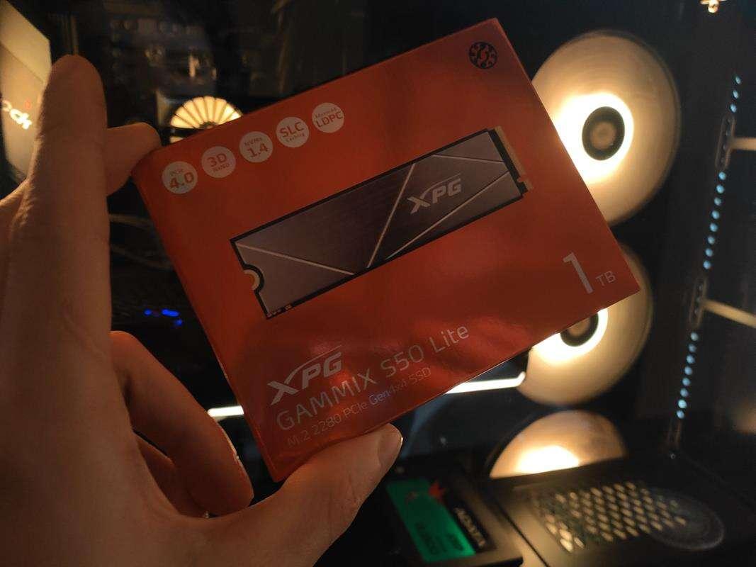 test dysku XPG Gammix S50 Lite 1 TB