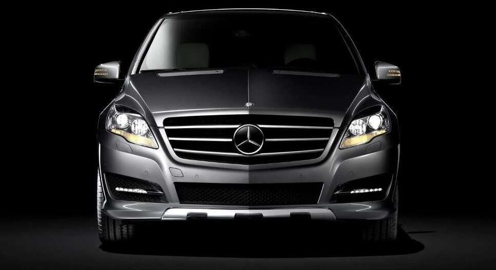 Elektryczny Mercedes, AMG GLR