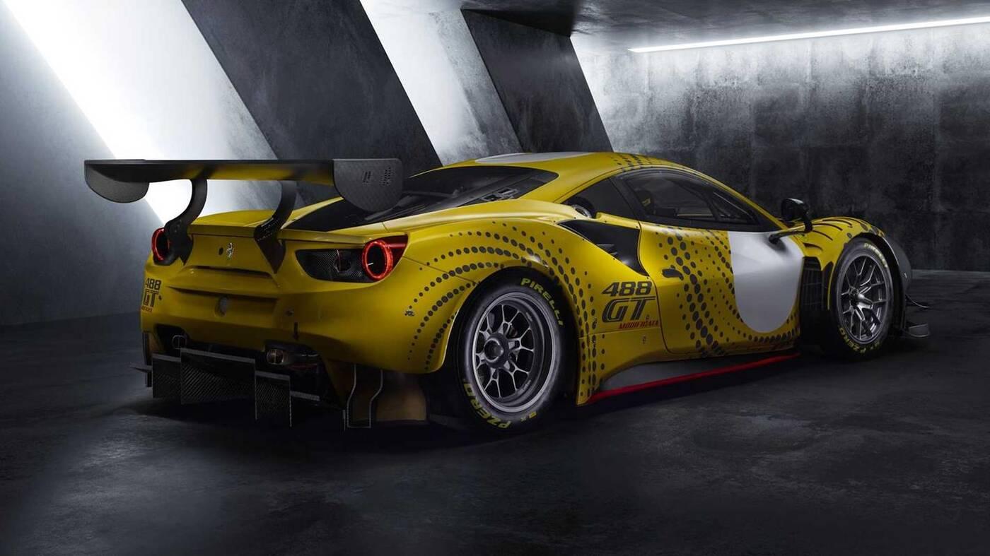 Ferrari 488 GT Modificata,488 GT Modificata, sportowy samochód 488 GT Modificata,