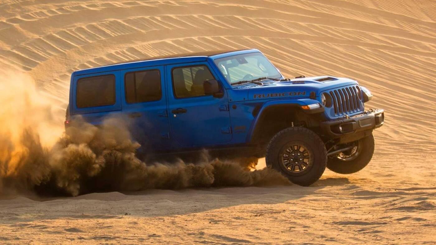 Premiera Jeep Wrangler Rubicon 392, Rubicon 392 Wrangler Rubicon 392,