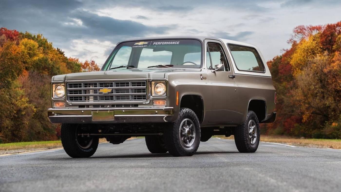 k5-blazer-e-1977 Chevrolet eCrate
