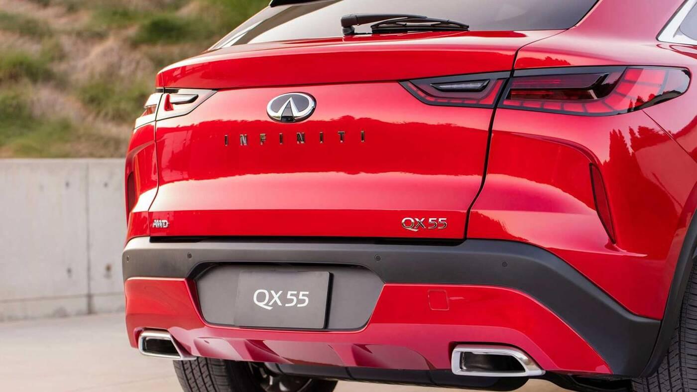 Nowe Infiniti QX55 zadebiutowało. Czerpie inspiracje z modelu FX