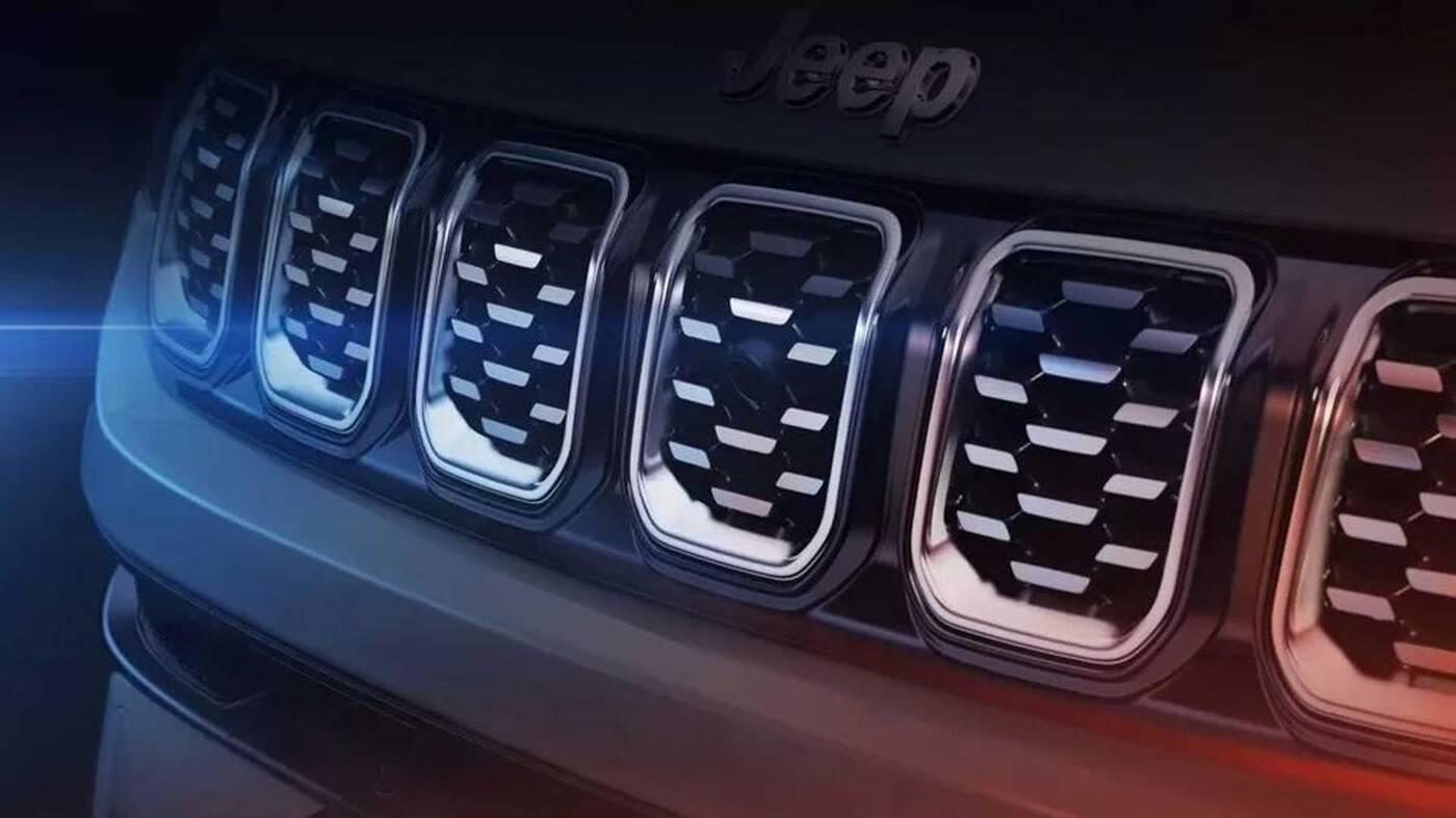 Nowy Jeep Compass, zwiastuny Compass, Jeep Compass zwiastun
