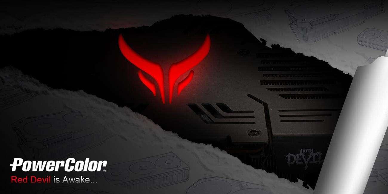 powercolor Radeon RX 6800 XT Red Devil, teaser Radeon RX 6800 XT Red Devil
