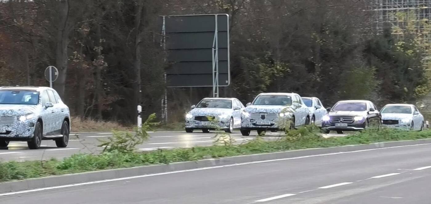 Mercedes GLC, Mercedes Klasy C,