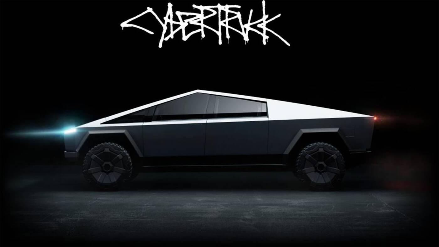 Tesla nowy wygląd Cybertrucka
