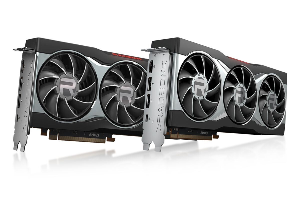 AMD Radeon RX 6800, Radeon RX 6800 XT, test kart AMD