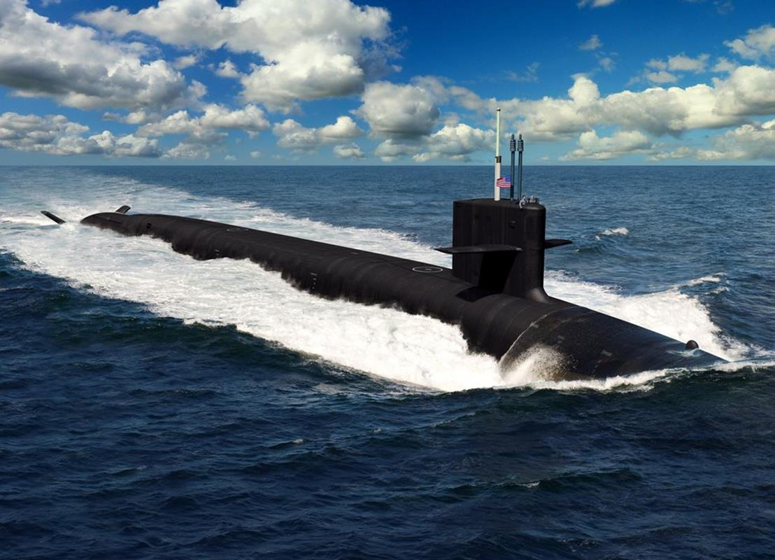 Columbia nowa generacja, okręt nowej generacji, okręt podwodny