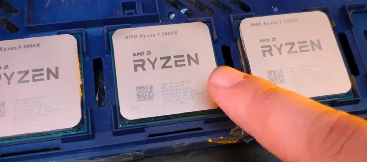 Ryzen 9 5900X, Ryzen 7 5800X, Ryzen 5 5600X, procesory Ryzen, wydajność Ryzen