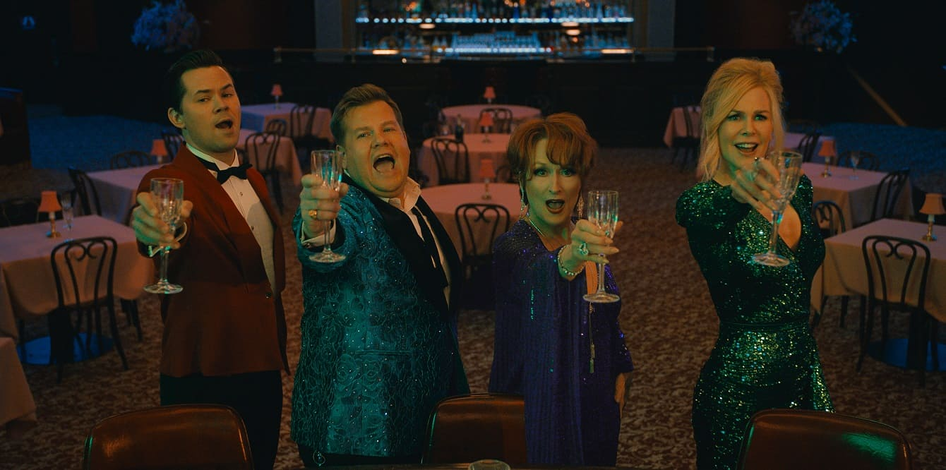 Bal, recenzja filmu Bal, Netflix, Meryl Streep, James Corden
