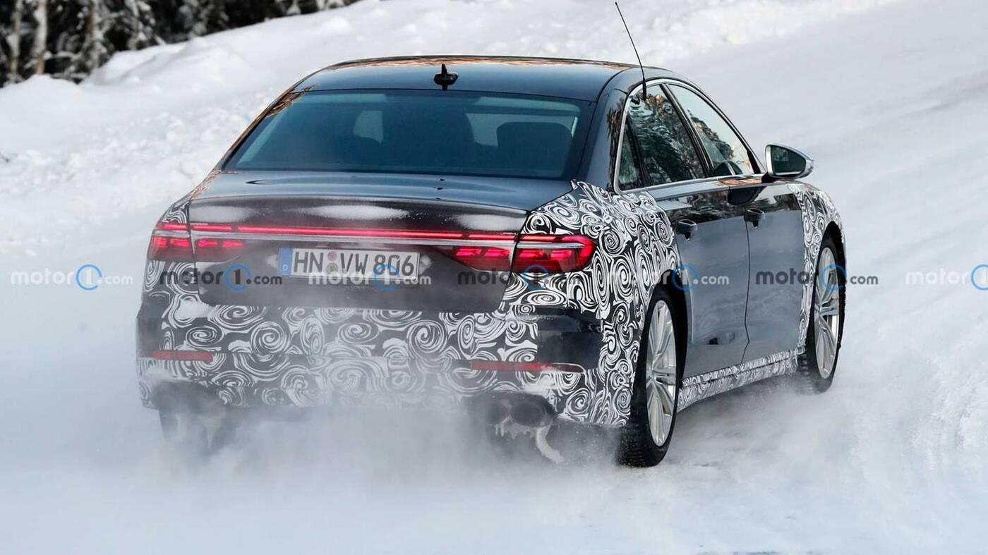 zdjęcia Audi S8 2022, Audi S8 2022, Audi S8 zdjęcia, nowe Audi S8