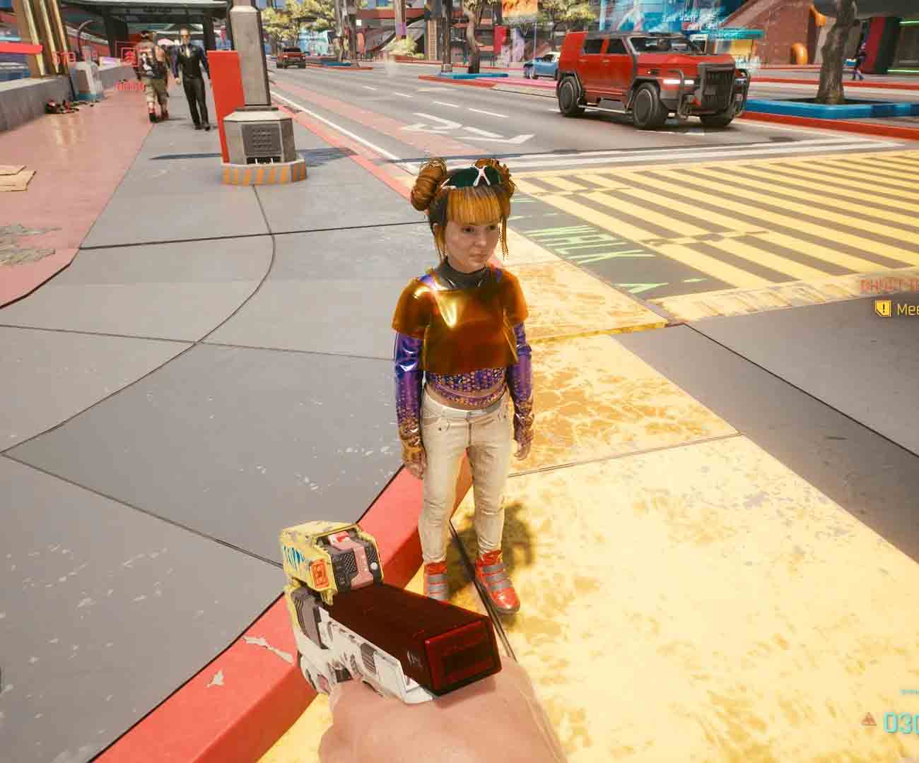 dzieci cyberpunk 2077