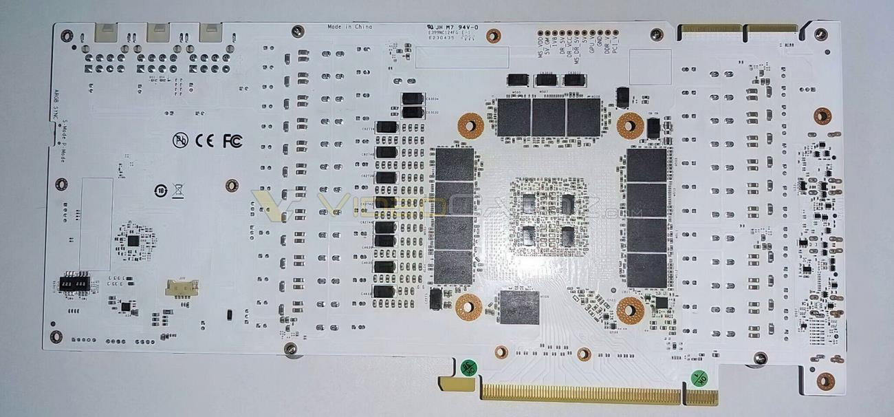 PCB Galax GeForce RTX 3090 Hall Of Fame