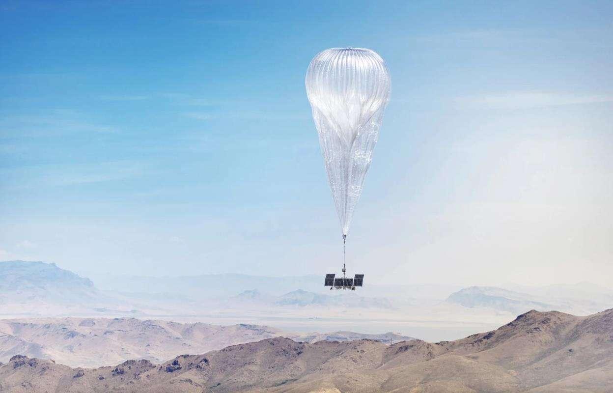 Internetowe balony Google, balony ALphabet,