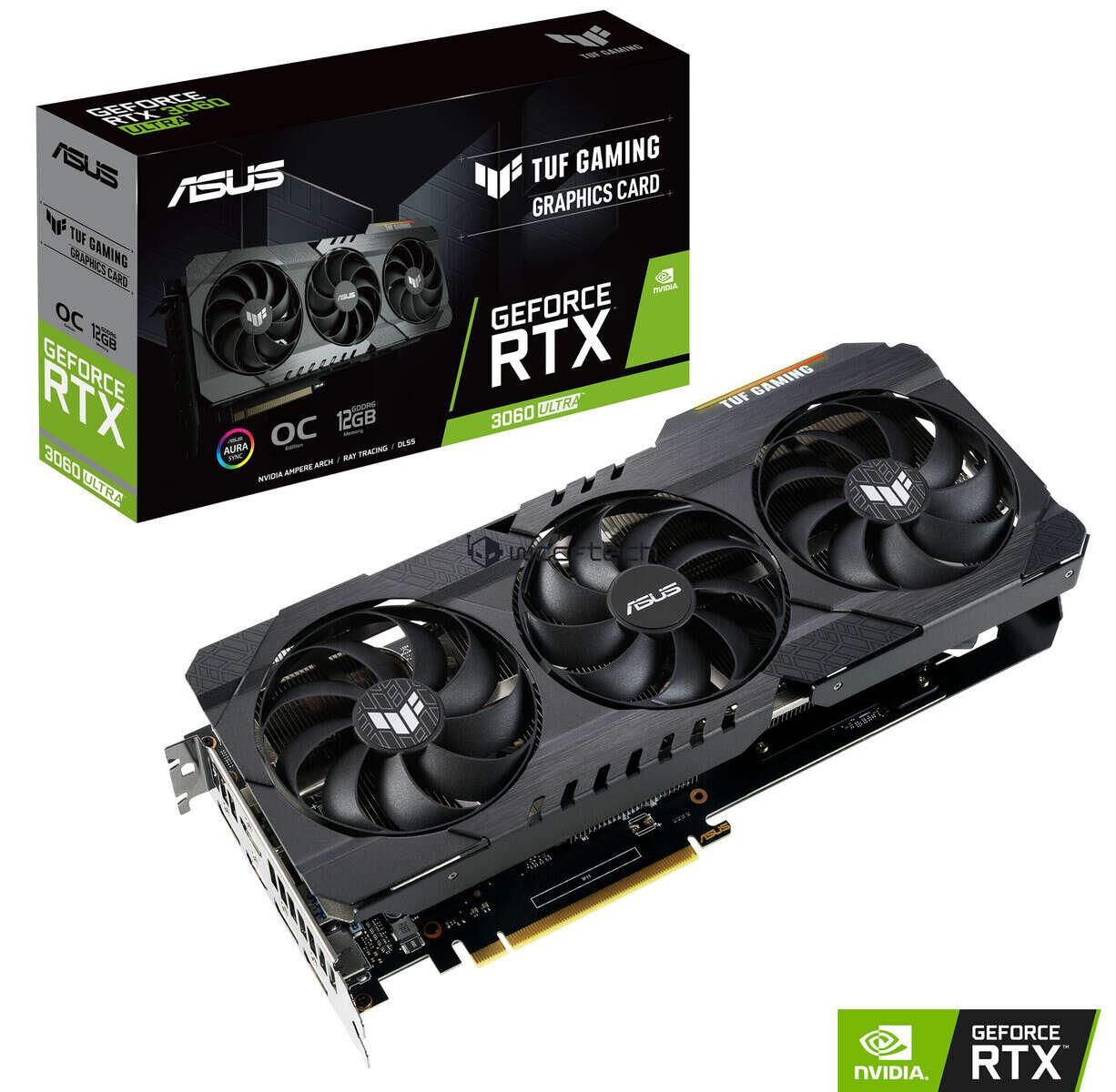 Asus GeForce RTX 3060 Ultra TUF OC