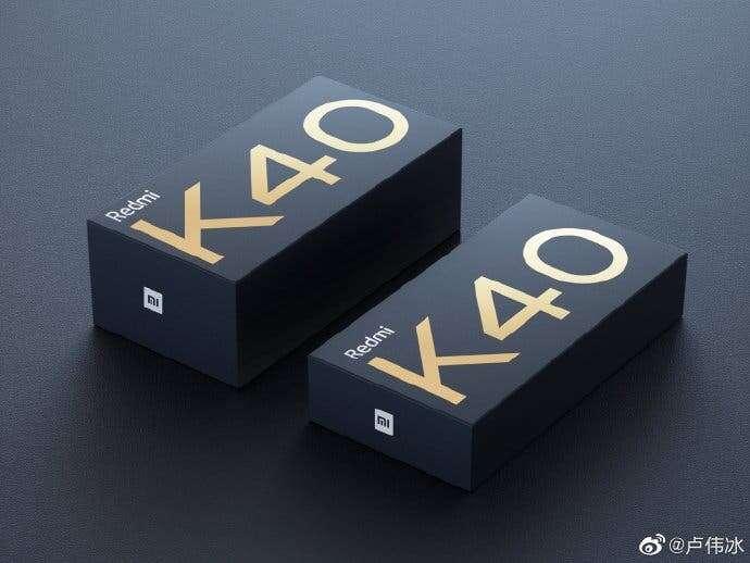 pudełko Redmi K40