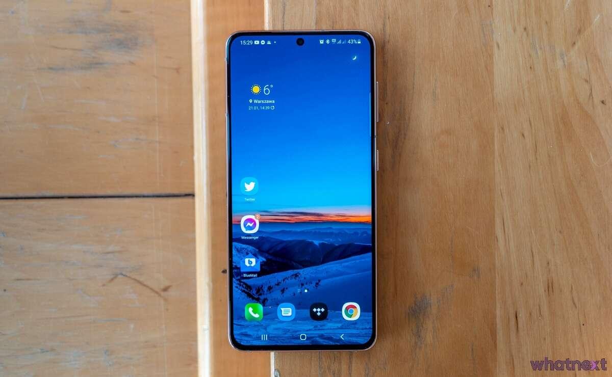 Samsung Galaxy S21 test recenzja