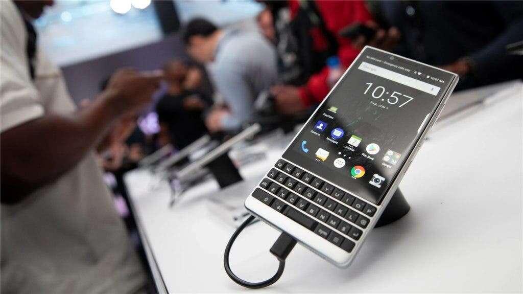 BlackBerry, BlackBerry smartfon