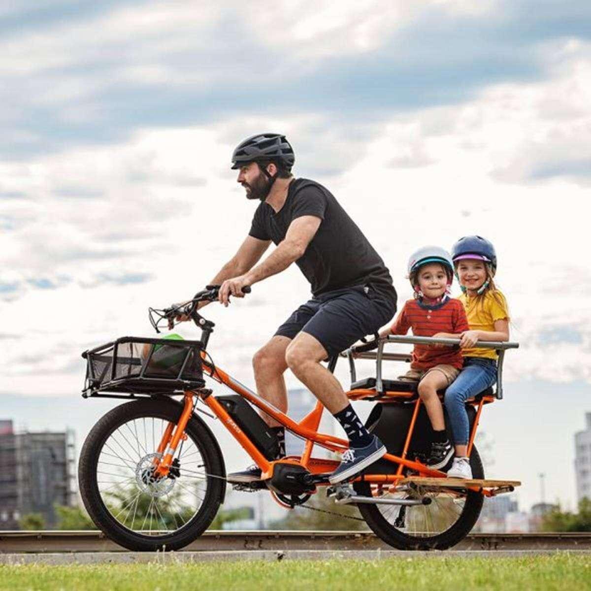 Elektryczny rower towarowy Yuba Kombi E5, Elektryczny rower towarowy Yuba, Elektryczny rower towarowy