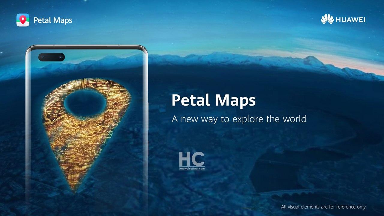 petal maps nawigacja