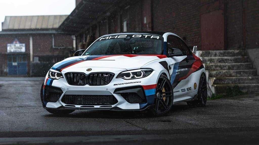 Manhart podkręcił BMW M2 CS, BMW M2 CS, Manhart BMW M2 CS, torowa bestia BMW M2 CS,