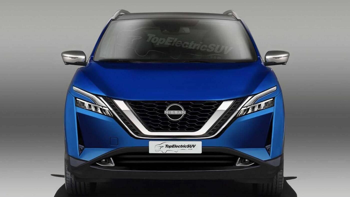 Render nowego Nissana Qashqaia, Render Nissan Qashqai