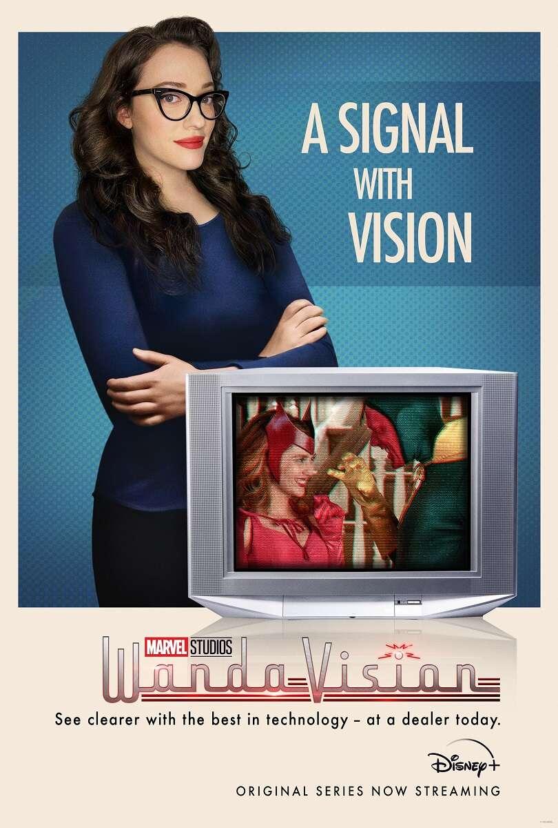 Kolejny plakat promujący serial WandaVision
