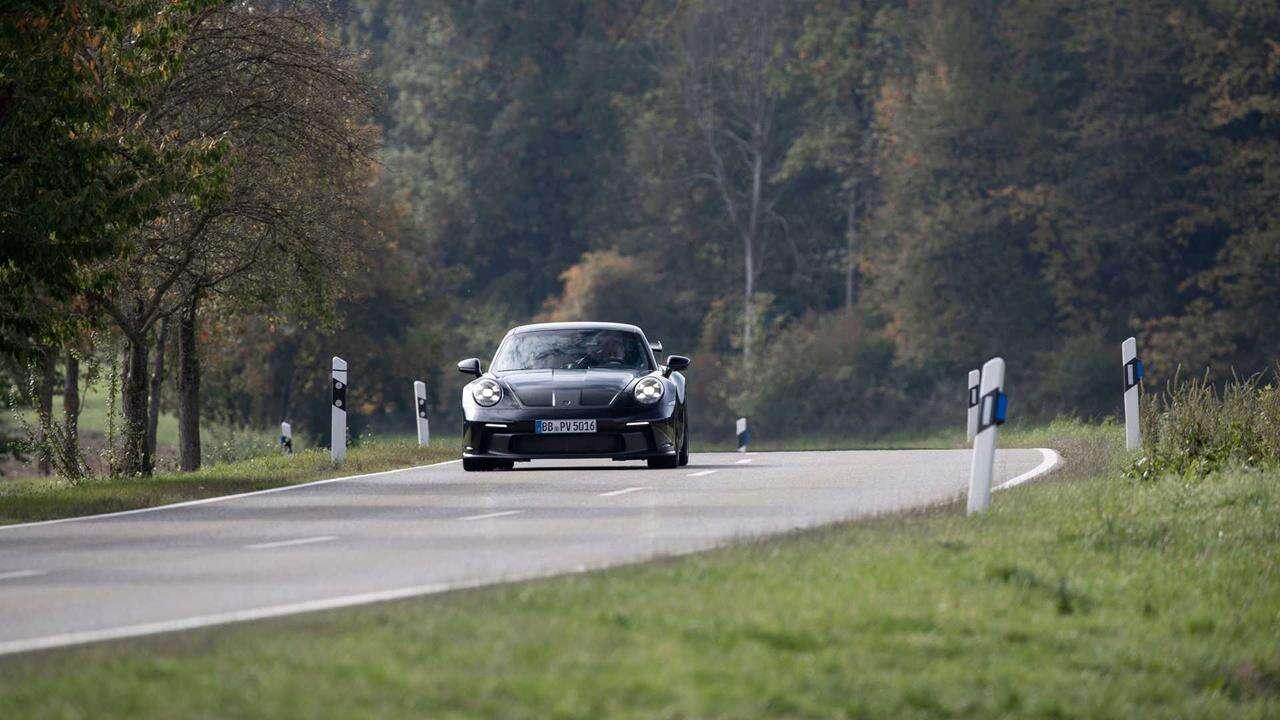 Zwiastun Porsche 911 GT3 2022, Porsche 911 GT3 2022, Zwiastun Porsche 911 GT3