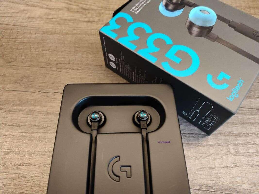 Test Logitech G333, gamingowe słuchawki douszne Logitech, Logitech G333, recenzja Logitech G333, test G333, G333