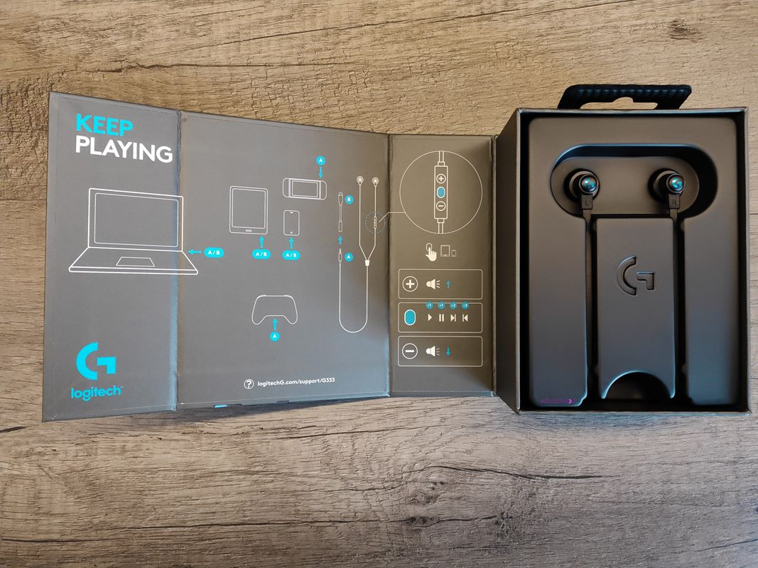 Test Logitech G333. Pierwsze gamingowe słuchawki douszne Logitech