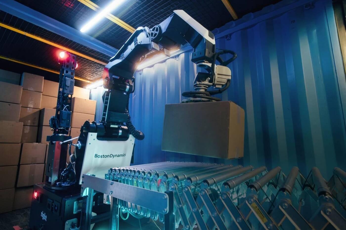 nowy robot Boston Dynamics, Boston Dynamics, Stretch Boston Dynamics, robot Boston Dynamics