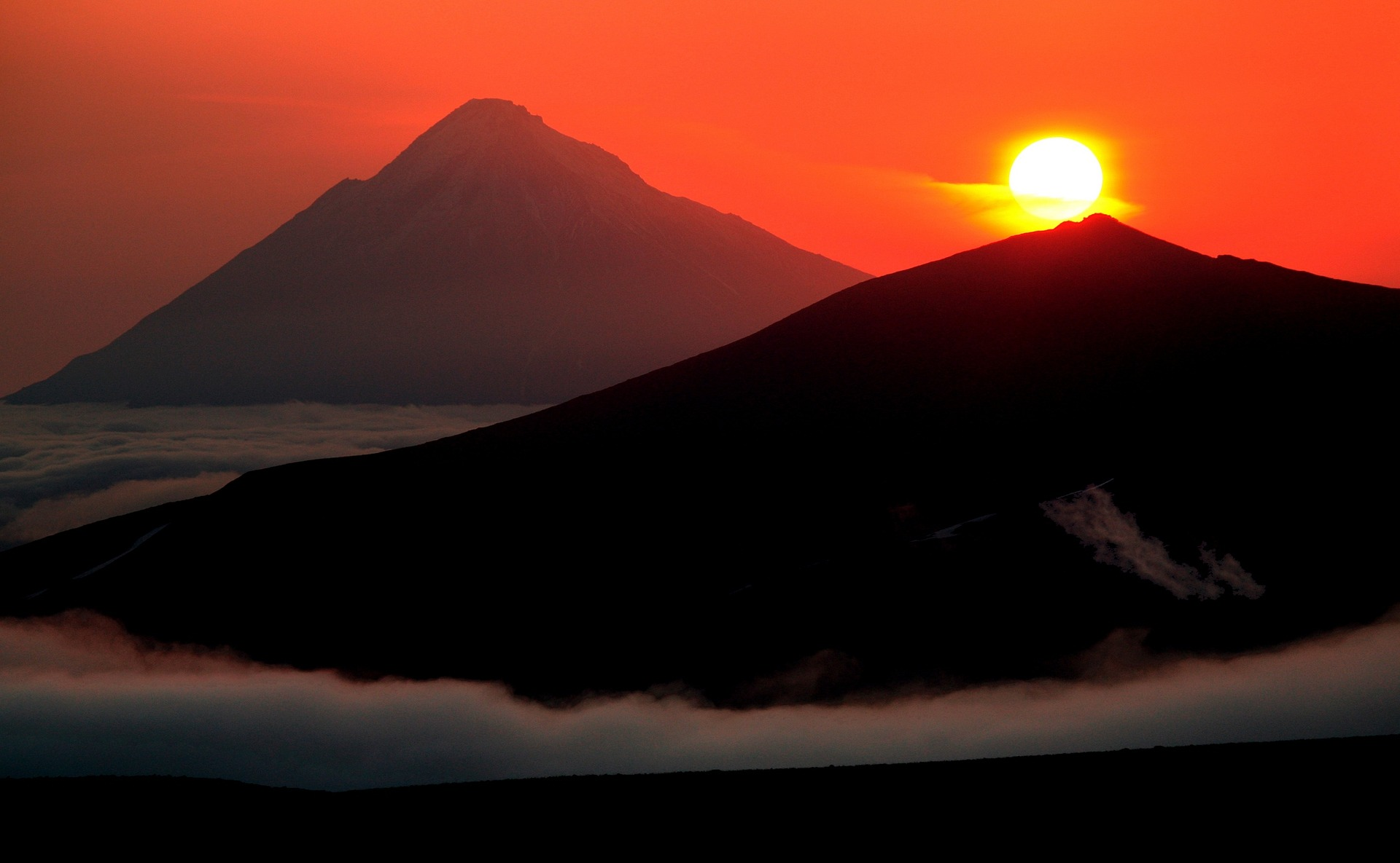 Wulkany tuż przed erupcją